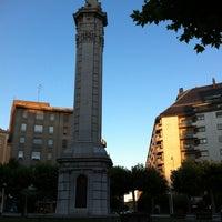 Photo taken at Plaza de la Inmaculada by Javier P. on 7/5/2012