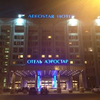 Photo taken at Aerostar Hotel Moscow by Olesya V. on 6/25/2012