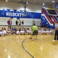 Photo taken at Woodstock Elementary School by Michael S. on 5/9/2012