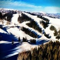 Photo taken at Aspen Mountain by Heather H. on 1/14/2012