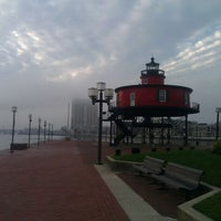 Photo taken at Seven Foot Knoll Lighthouse by Teddy D. on 12/5/2011