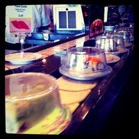 Photo taken at Kura Sushi by Celine H. on 1/22/2011