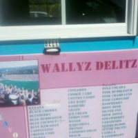 Photo taken at Wallyz Delux Sno Conz by Jade G. on 9/24/2011