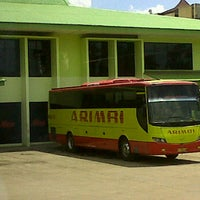 Photo taken at Pool Bus Arimbi/Bima Suci/AJA by Baim I. on 1/6/2012