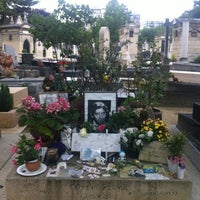 Photo taken at Montparnasse Cemetery by Courtney M. on 7/12/2012