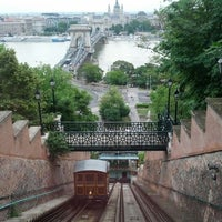 Photo taken at Buda Castle Hill Funicular by Robert Š. on 6/4/2012