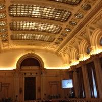 Photo taken at Palatul Parlamentului by Игорь А. on 4/26/2012