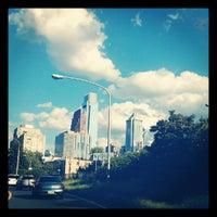 Photo taken at Vine Street Expressway by J. B. on 8/29/2012