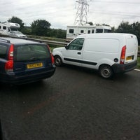 Photo taken at M56 Junction 12 / A557 by Matt H. on 8/27/2012