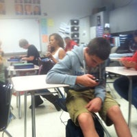 Photo taken at Glenwood High School by Niko R. on 10/17/2011
