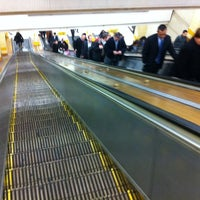 Photo taken at Wynyard Station (Main Concourse) by Andrew M. on 6/29/2011