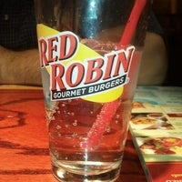 Photo taken at Red Robin Gourmet Burgers by Heather A. on 12/24/2011