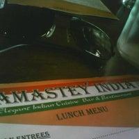 Photo taken at Namastey India by Ki Z. on 10/17/2011