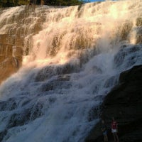 Photo taken at Ithaca Falls by Sean K. on 8/29/2011