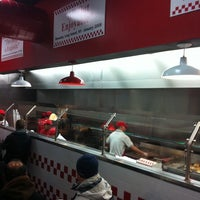 Photo taken at Five Guys by Greg C. on 1/7/2011
