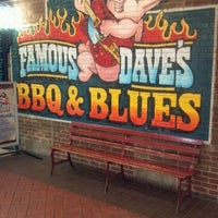 Photo taken at Famous Dave's by Marquisha L. on 6/2/2012