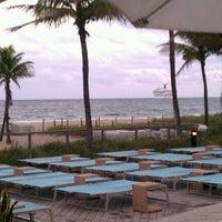 Photo taken at Pool @ Sheraton Ft. Lauderdale by David B. on 11/27/2011