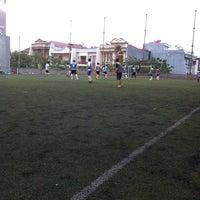 Photo taken at Bina bangsa school stadium by Fredy W. on 2/19/2012
