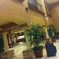 Photo taken at Hampton Inn & Suites Hemet by Samantha M. on 10/22/2011