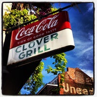 Photo taken at Clover Grill by Anthony C. on 6/24/2012