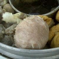 Photo taken at Baso Pak Gung by chitusi on 10/21/2011