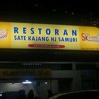 Photo taken at Sate Kajang Haji Samuri by Mohd Khairul Anuar on 12/1/2011