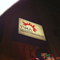 Photo taken at Thea Mediterranean Cuisine by kevin P. on 7/25/2011