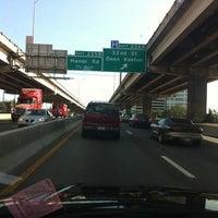 Photo taken at Interstate 35 & 15th Street by Erik F. on 7/28/2011