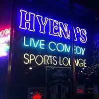 Photo taken at Hyena's Comedy Nightclub by  ℋumorous on 1/15/2011