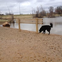 Photo taken at Shelby Farms Dog Park by Michael B. on 2/18/2012