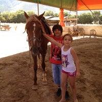 Photo taken at Abacı At Çiftliği by Volkan Ç. on 8/30/2012