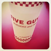 Photo taken at Five Guys by Justin on 9/1/2012