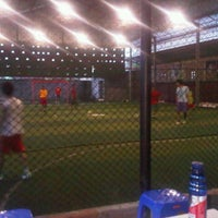 Photo taken at Udayana Futsal Centre (UFC) by Dwi Eka P. on 12/23/2011