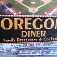 Photo taken at Oregon Diner by Sean W. on 8/5/2012