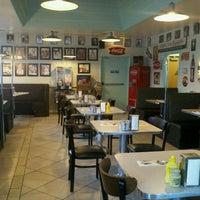 Photo taken at Cafe 50's by Vivian V. on 8/22/2011