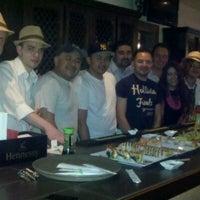 Photo taken at Mompou Tapas Bar & Lounge by Jose R. on 5/19/2011