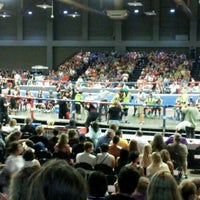 Photo taken at Lester E. Palmer Events Center by Suzy S. on 5/27/2012