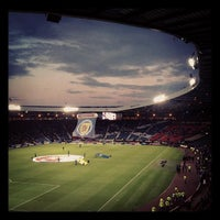 Photo taken at Hampden Park by Peter G. on 9/11/2012