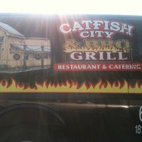 Photo taken at Catfish City & BBQ Grill by Jeremy C. on 6/4/2011