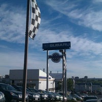 Photo taken at Heuberger Subaru by Ted S. on 8/18/2011