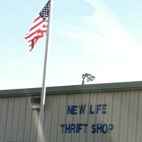 Photo taken at New Life Thrift Shop by Wayne W. on 12/31/2011