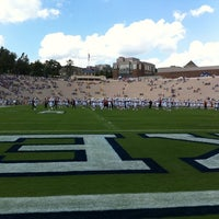 Photo taken at Brooks Field at Wallace Wade Stadium by Evan P. on 9/10/2011