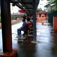 Photo taken at Estação Jaraguá (CPTM) by Pedro F. on 7/8/2012