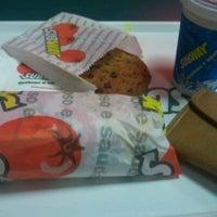 Photo taken at Subway by Ana Carolina C. on 6/14/2012