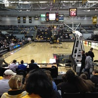 Photo taken at Stuart C. Siegel Center by Kyle G. on 2/9/2012