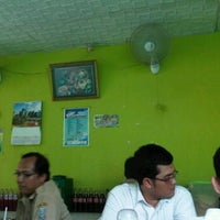 Photo taken at Warung Pak H Bakir by Mohamad T. on 11/15/2011