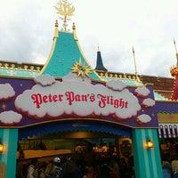 Photo taken at Peter Pan's Flight by BLANC on 10/4/2011