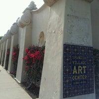 Photo taken at Spanish Village Art Center by Johnny C. on 8/3/2012
