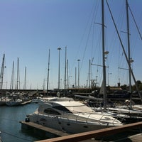 Photo taken at Oeiras Yacht Harbour by Ana O. on 3/27/2012