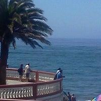 Photo taken at Playa San Antonio by Laia-Carolaina O. on 1/28/2012